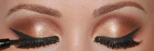ojos maquillados graduacion