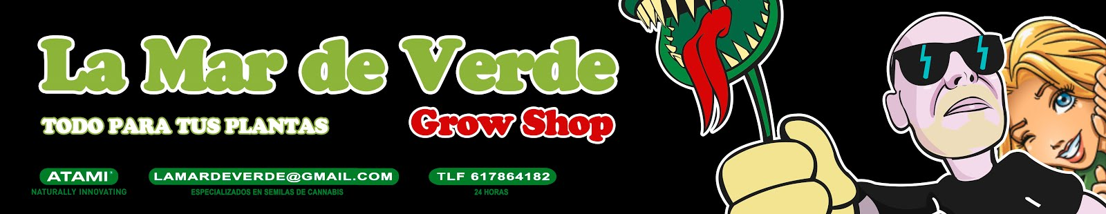 LA MAR DE VERDE GROW SHOP