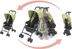 Ayumieka.blogspot.Com: Stroller Combi Quickids yang sangat ringan
