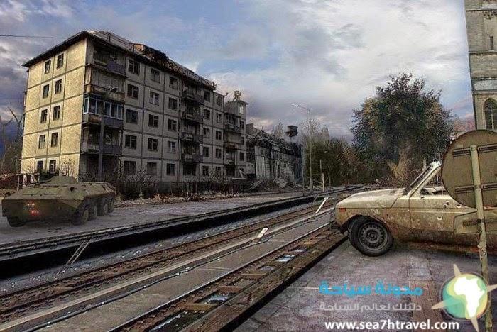 جولة حول معالم مدينة كييف الاوكرانية