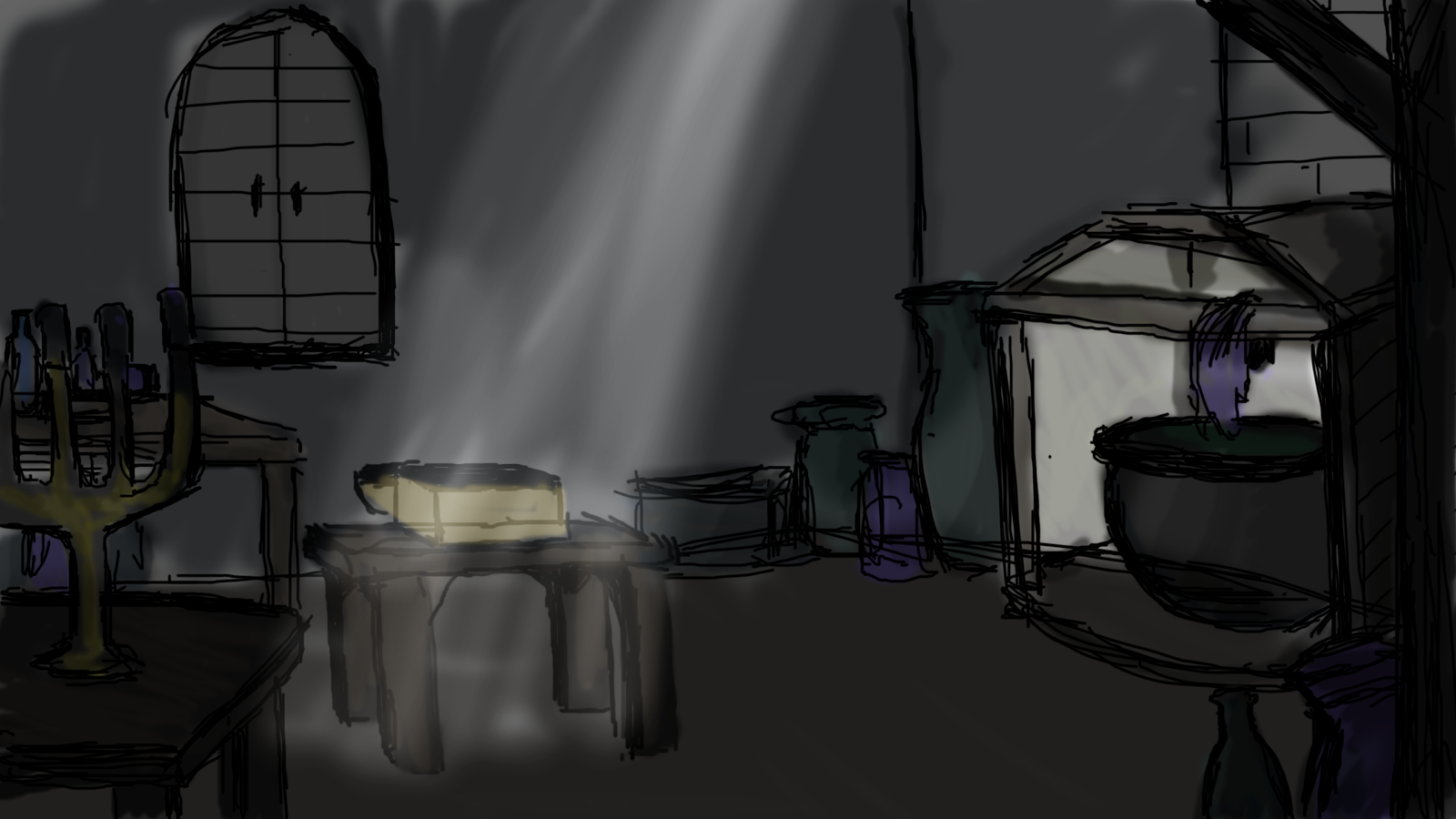 But I Dont Think Saturation Will Be Very Effective Especially Since The Room Fairly Dark Anyway