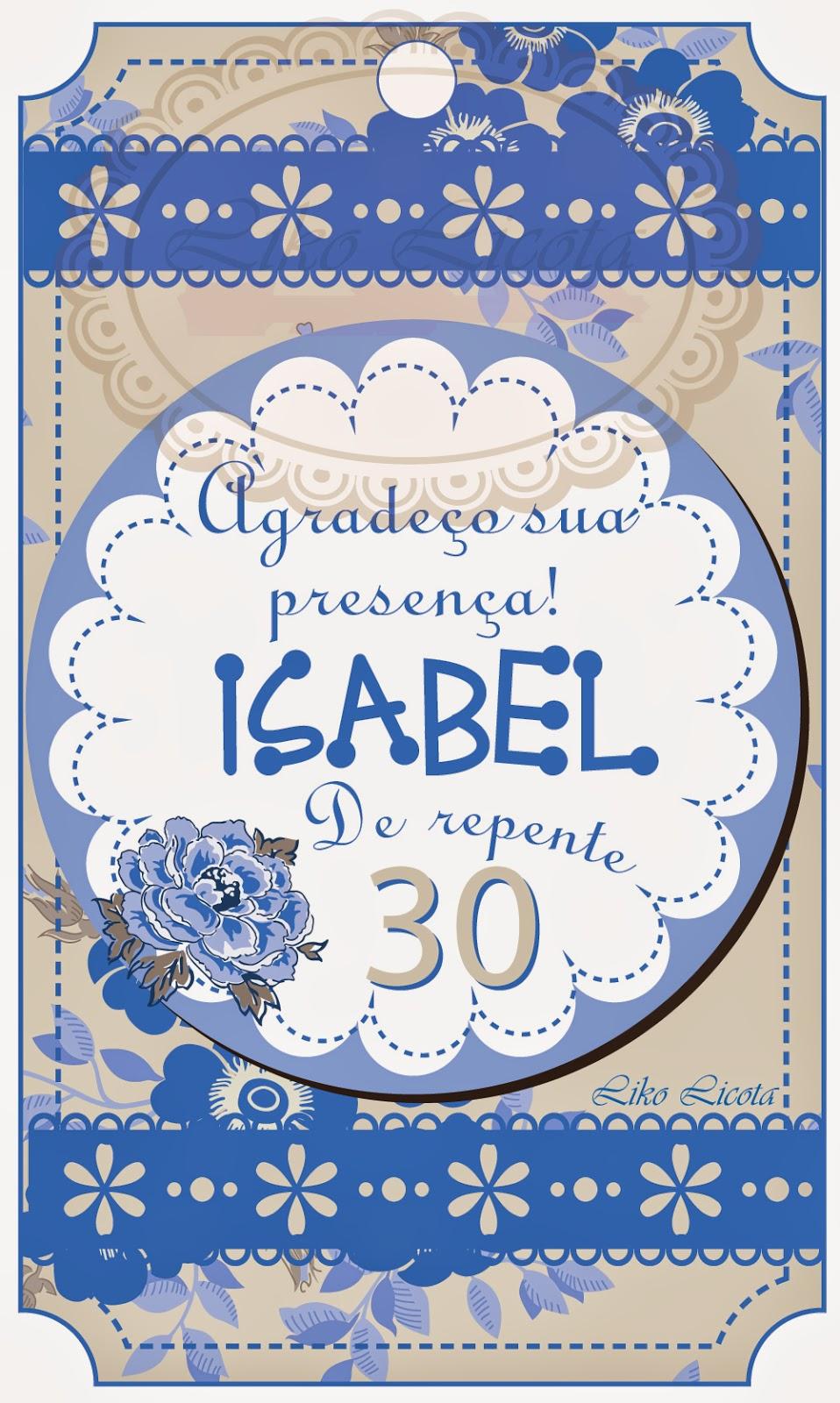 adesivos personalizados para festa de repente 30