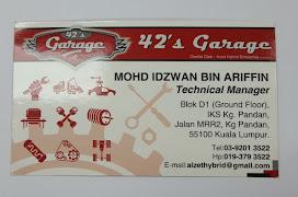 Bengkel Kereta Bumiputera : 42's Garage!