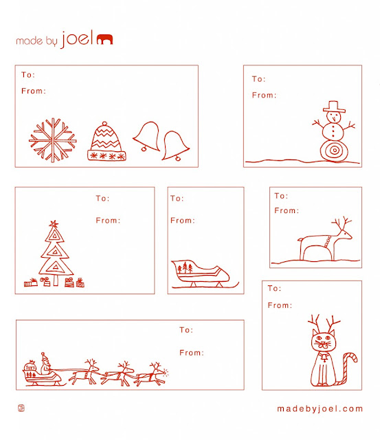 Ultimate Collection of Free Printable Christmas Gift Tags – Christmas Gift Card Templates Free