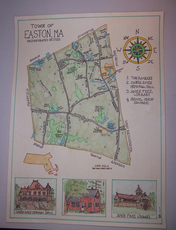 Rivers Edge Maps Easton MA Map Commission