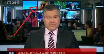 Canal da Républica Checa exibe pénis em directo no telejornal