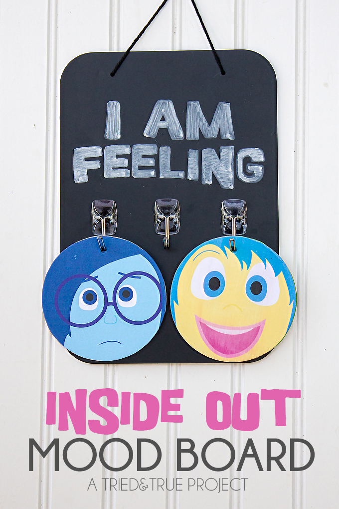 The clever school counselor inside out for Emotion art projects
