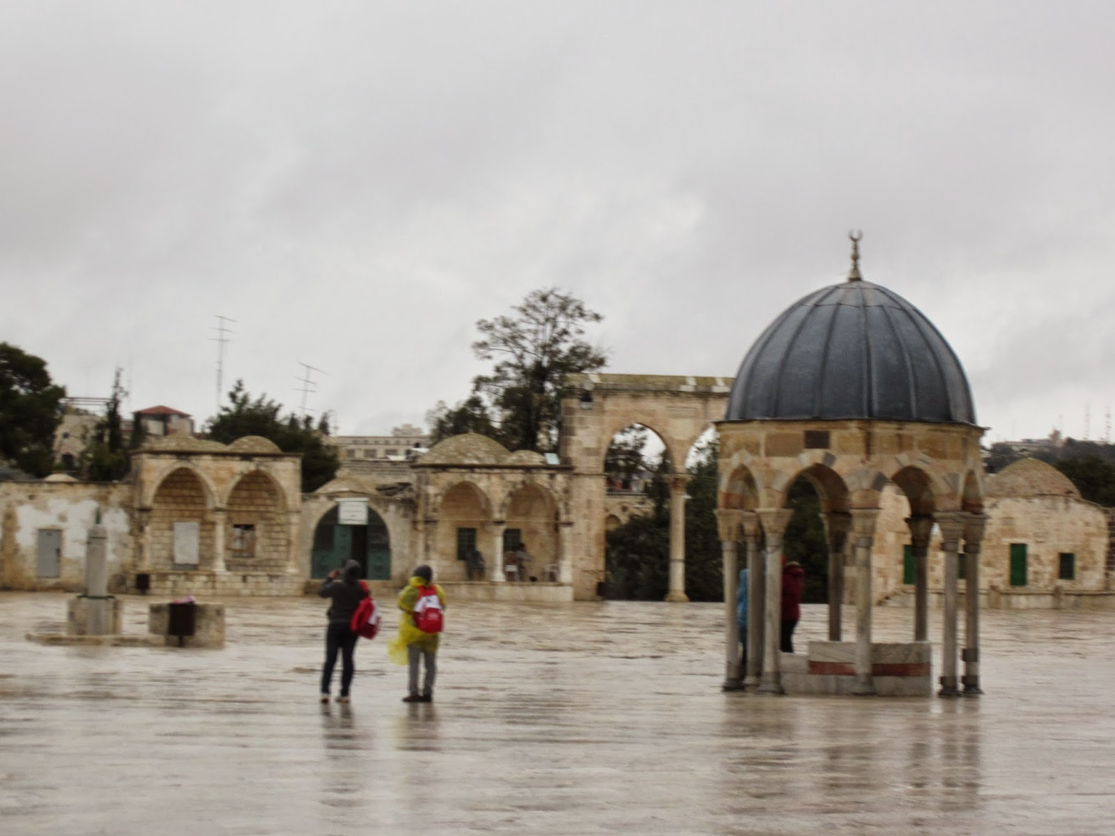 Dome of the Prophet, Temple Mount, Jerusalem / Souvenir Chronicles