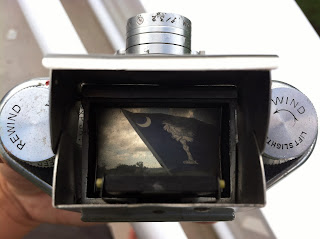 Bolsey Model C viewfinder