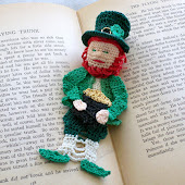 Lucky Irish Leprechaun bookmark