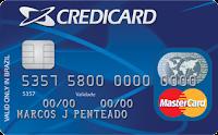 Pedir Cartão de Crédito Credicard Nacional MasterCard