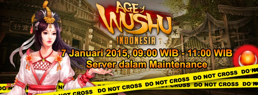 Maintenance Server Age Of Wushu 7 Januari 2015