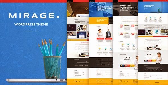 freebResponsive Portfolio WordPress Theme 2015