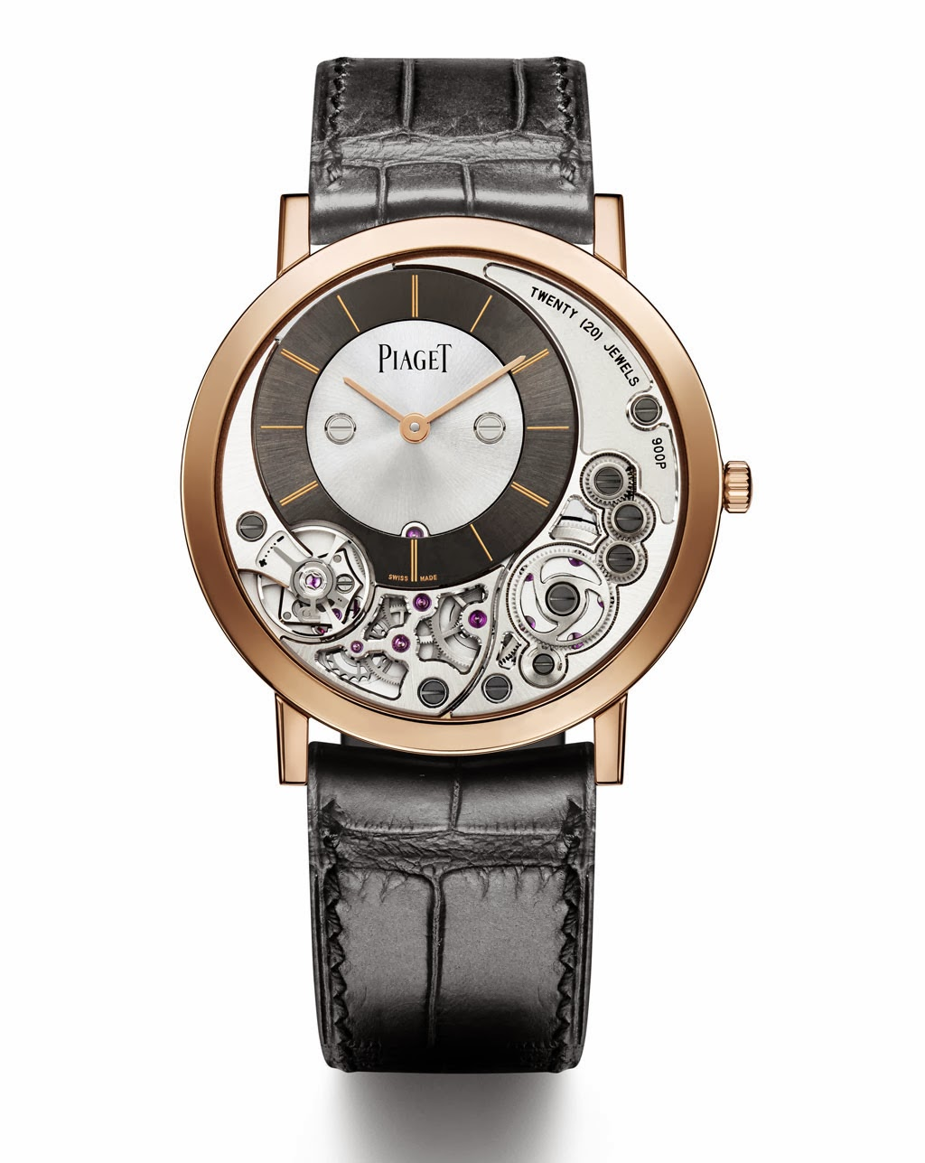 SIHH 2014: Piaget's Altiplano 38mm 900P Pink Gold and High ...