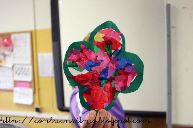Con buen ritmo creamos una vidriera con papelitos de colores - Como hacer una vidriera ...