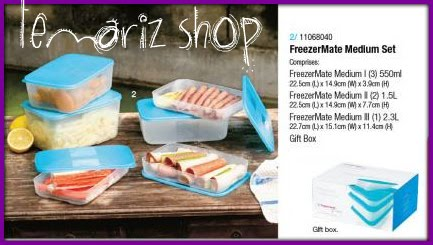 Freezermate Medium set