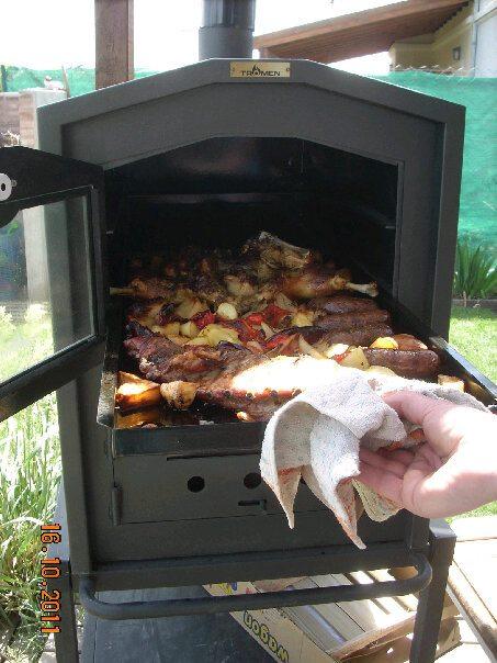Don julian horno hierro fundido calor envolvente for Horno de hierro fundido