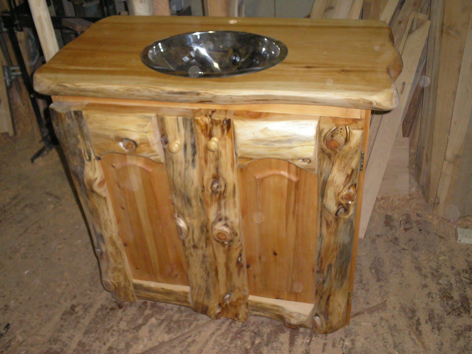 Muebles Artesanales Vantory Rustico Patagonico de Cipres