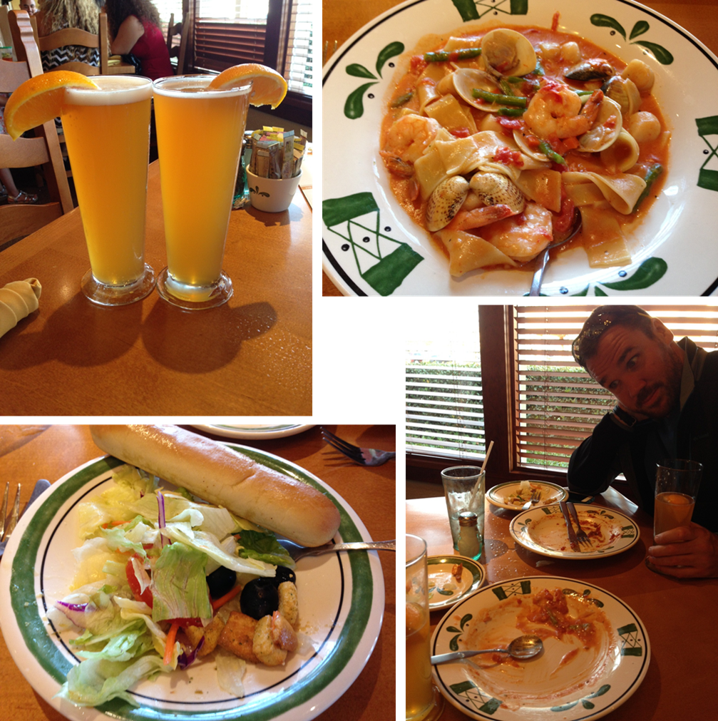 Running and tri ing for the win e race report mountains 2 beach marathon Does olive garden have take out