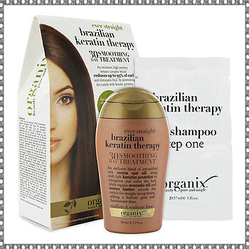 ... Review: Organix Brazilian Keratin Therapy - 30 Day Smoothing Treatment