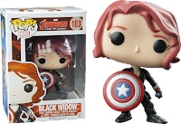 Funko Pop! Black Widow with Shield