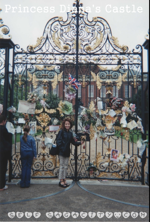 Princess Diana's Castle front gate