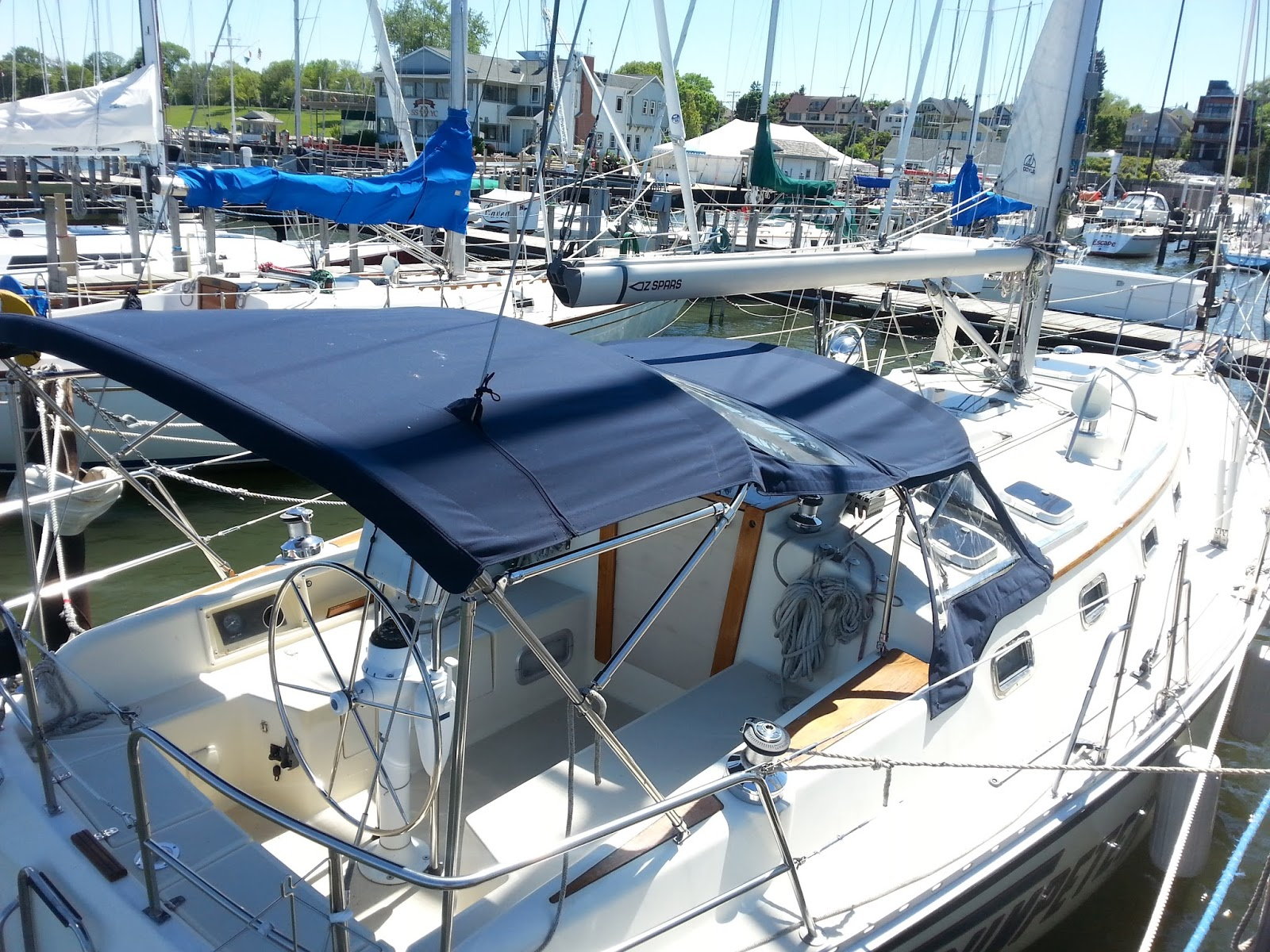 Homestyle Custom Upholstery And Awning Custom Sailboat