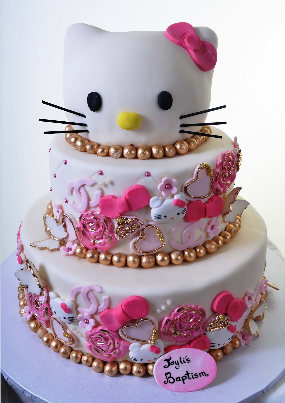 Cake Designs Of Hello Kitty : 10 Hello Kitty Cake Decorations Ideas CAKE DESIGN AND ...
