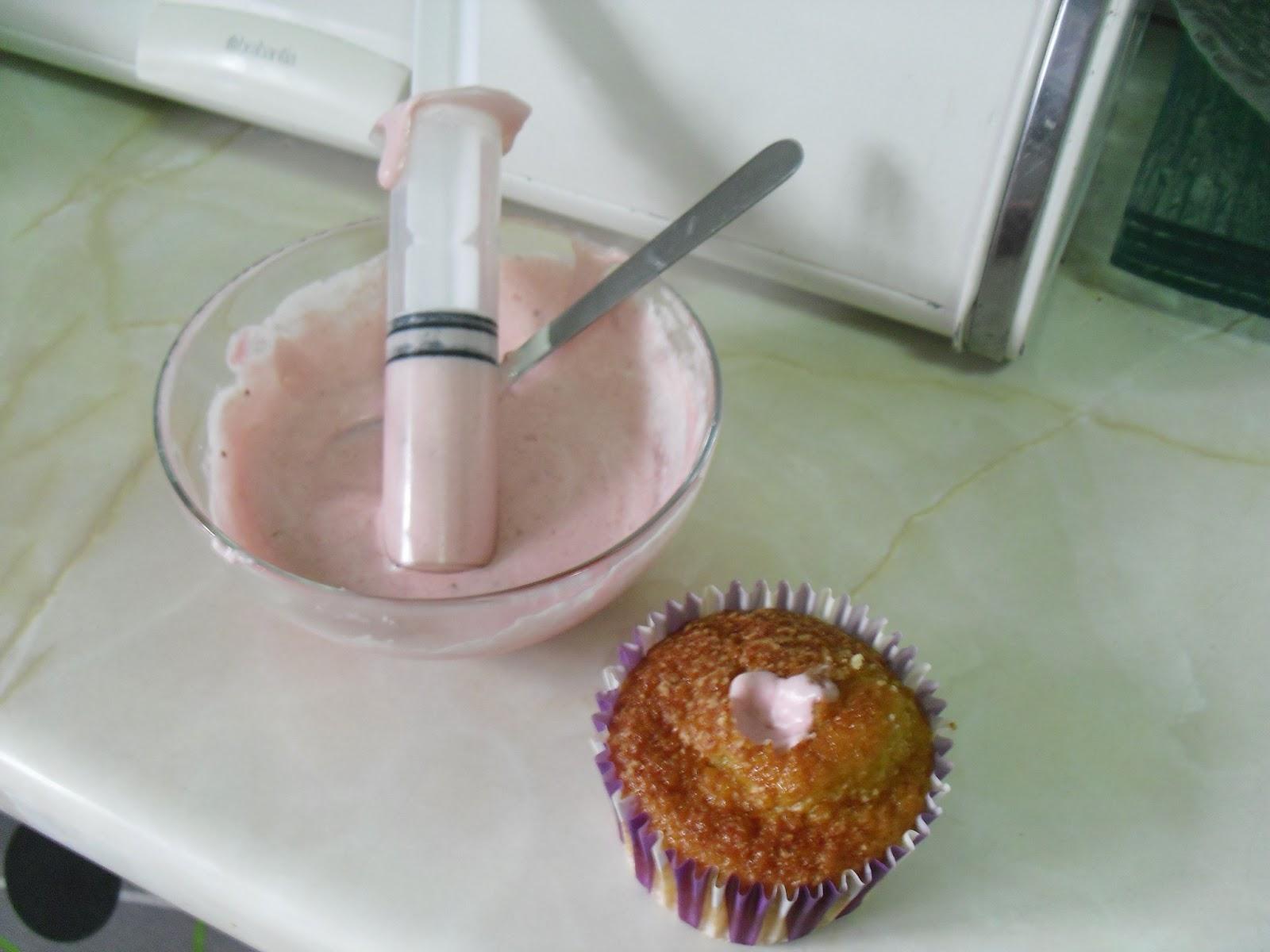Cupcakes rellenos   Los Dulces de LuLu