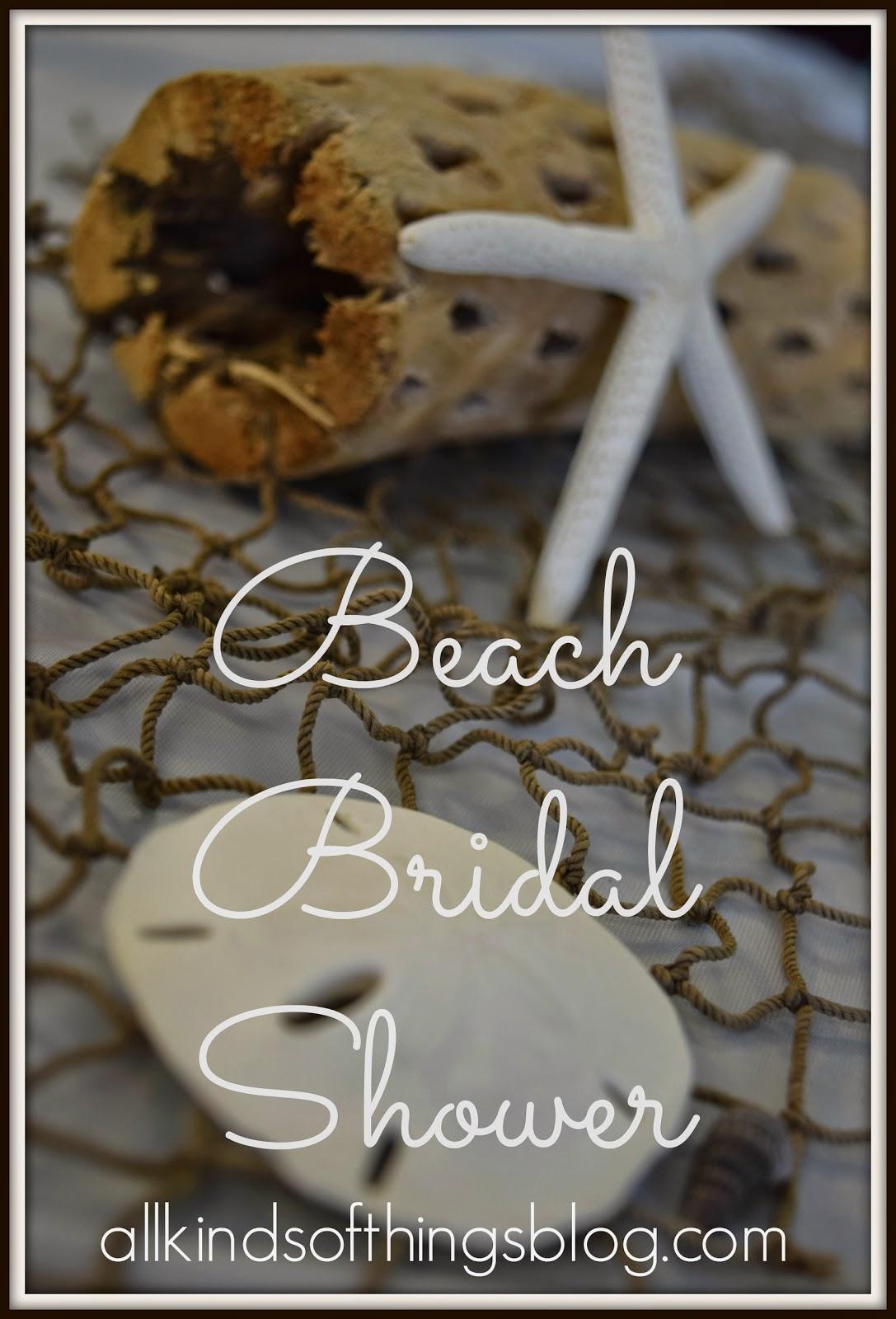 Beach Bridal Shower
