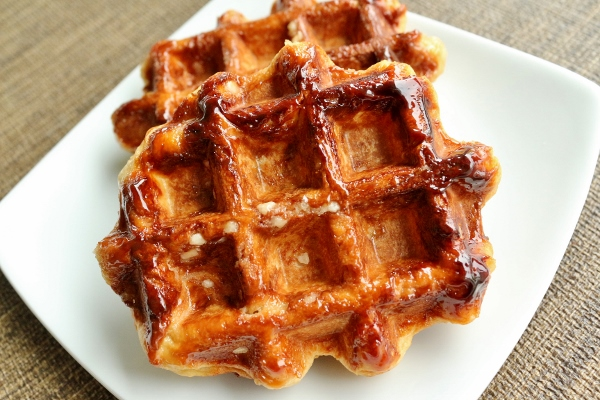 Mission: Food: Belgian Liège Waffles