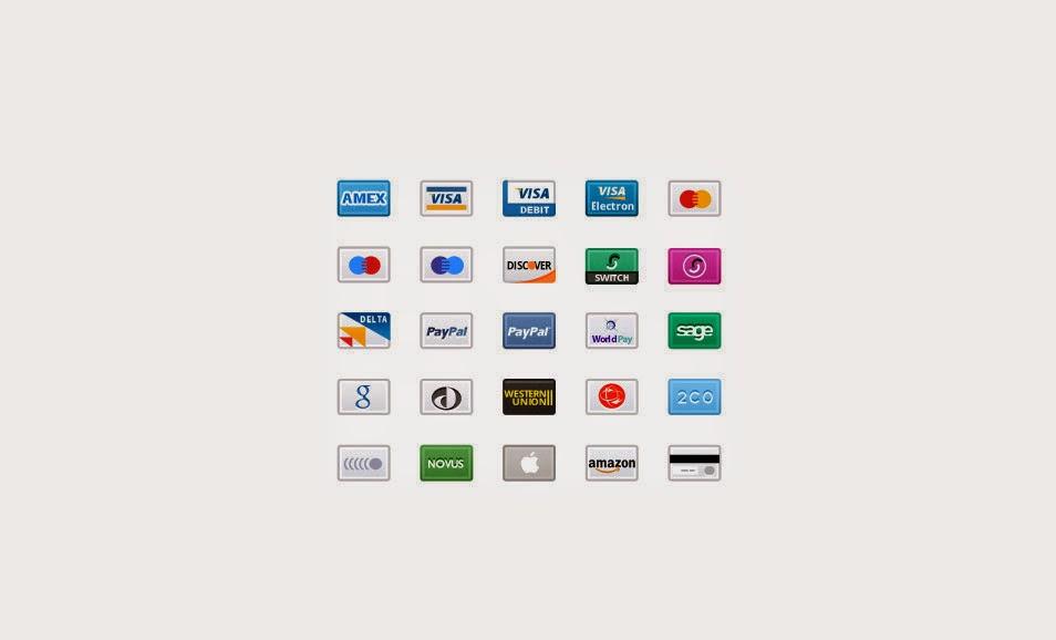 Free Credit Card Retina Icons