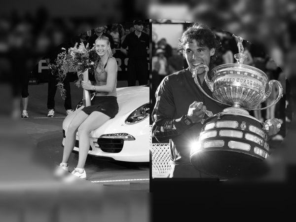 Tennis Players of the Month - Nadal, Sharapova capture April 2012 Awards