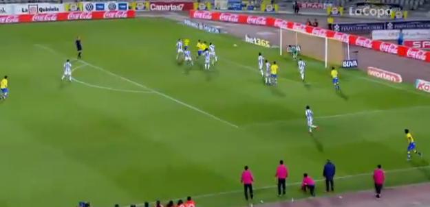 2-1 gol de Herán tras centro de El Zhar