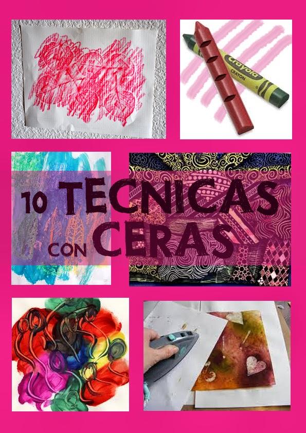 Diez técnicas para pintar con ceras blandas y duras I - Aprender con ...