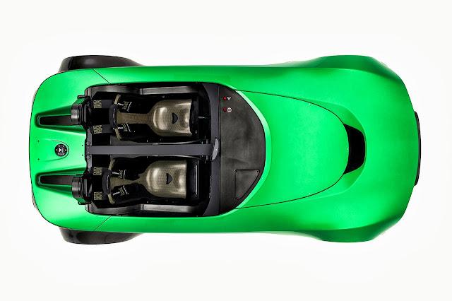 Caterham Aeroseven Concept Car top