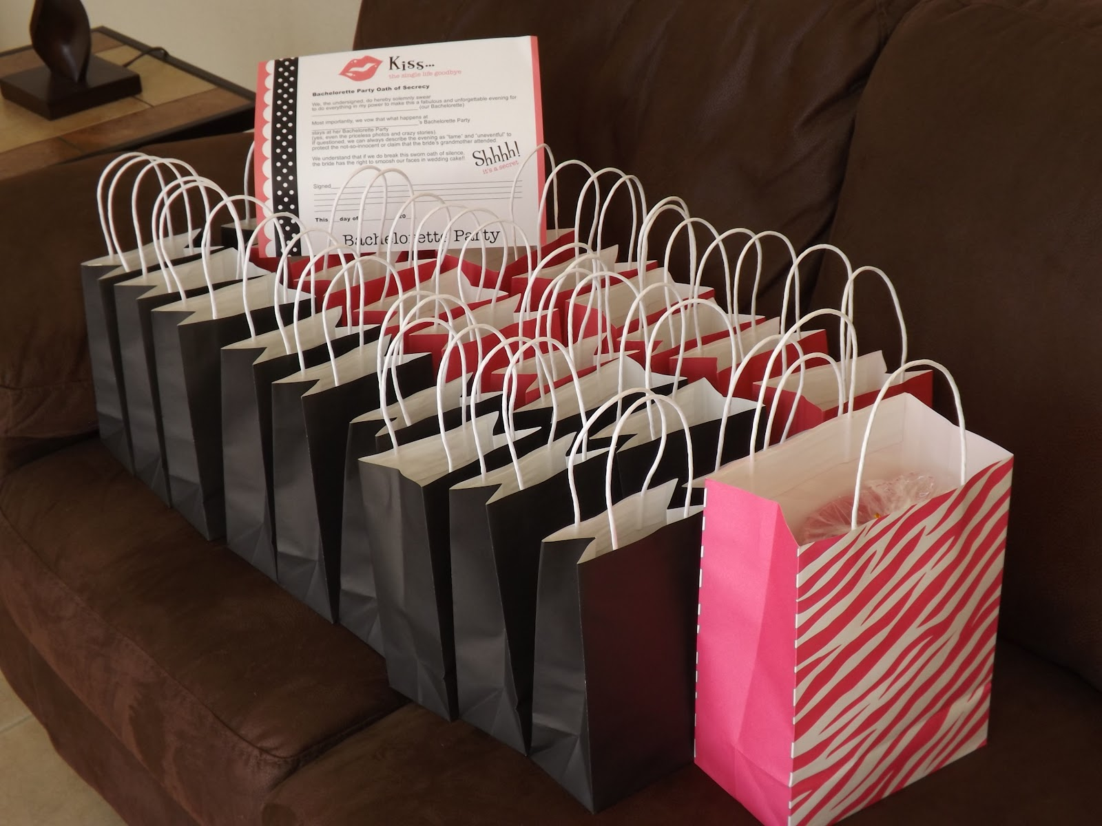 So Here Are The Bachelorette Party Gift Bags I Threw Together
