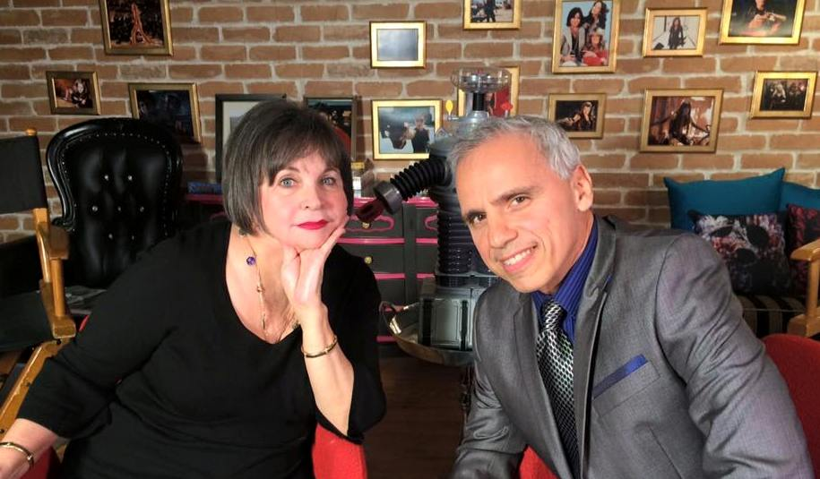 "Cindy Williams (Laverne & Shirley) with Herbie J Pilato on ""Now & Then"""