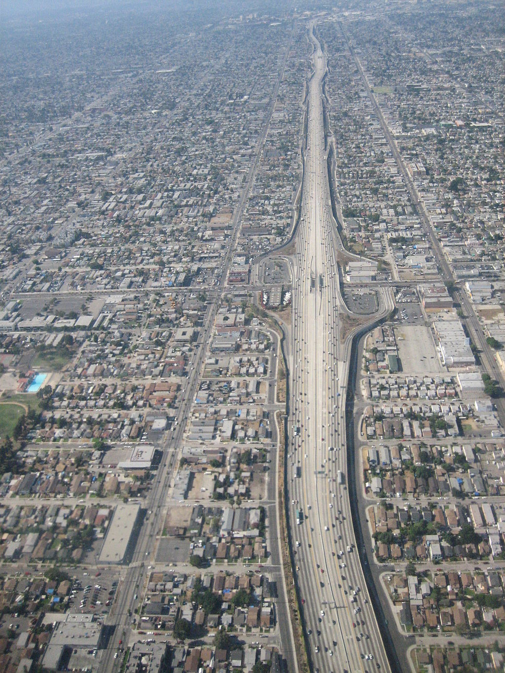 I-110 in Los Angeles