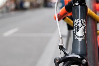 cinelli, mash, bicycle, the biketorialist, biketorialist, fixed speed, fixie, grey , frame, tim macauley, timothy macauley, model, frame, Melbourne,  Australia, head badge, logo, badge,
