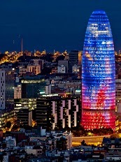 Torre Agbar, Barcelona, Jean Nouvel, 2004.
