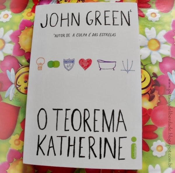 O Teorema Katherine, John Green, Editora Intrínseca, livro, capa, sinopse