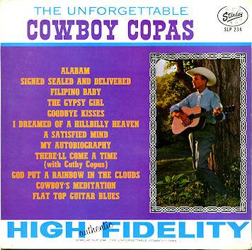 Cowboy Copas - Filipino Baby