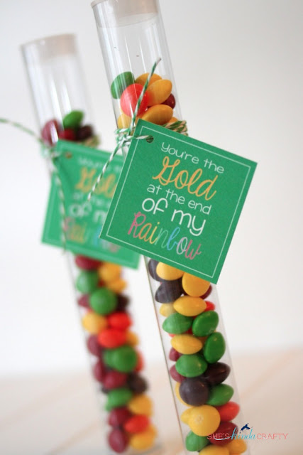 Free St. Patrick's Day favor tag