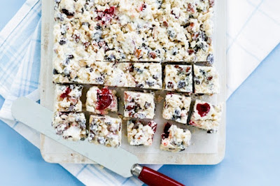 Jo's white Christmas slice recipe