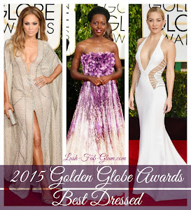 Dazzle In the Glitz, Glamour & Fabulous Gowns At The 2015 Golden Globes Awards.
