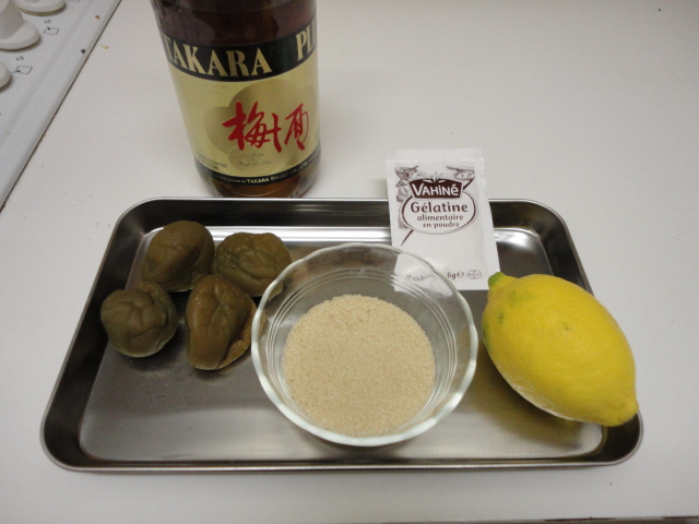 Ma vraie cuisine japonaise gel e aux prunes japonaises - Ma vraie cuisine japonaise ...