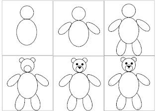 La classe du chat lunettes arts visuels - Comment dessiner un ours ...