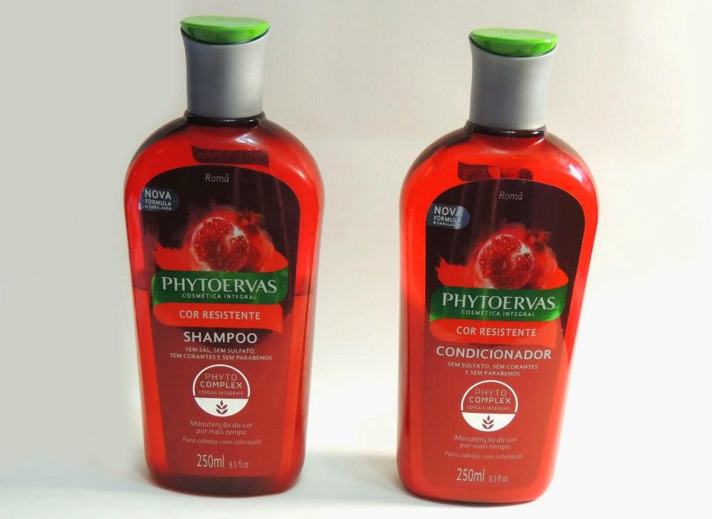 Resenha: Shampoo e Condicionador Cor Resistente da Phytoervas