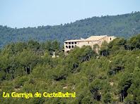 La Garriga de Castelladral vista des de sota el Turó del Pi de Malla